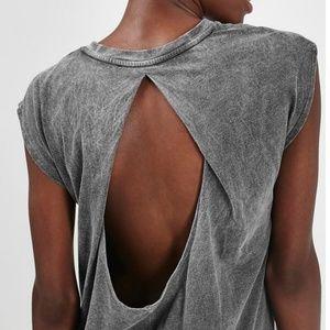Topshop Cut-out Back Maxi Dress